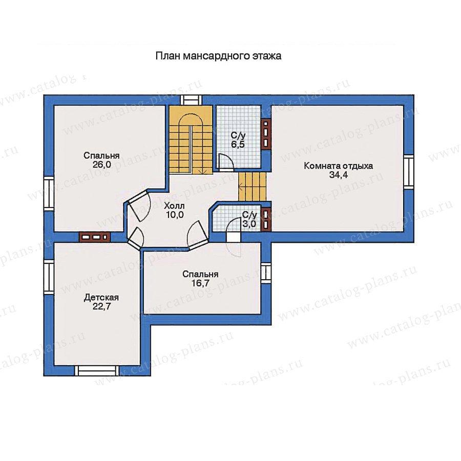 План 2-этажа проекта 31-66