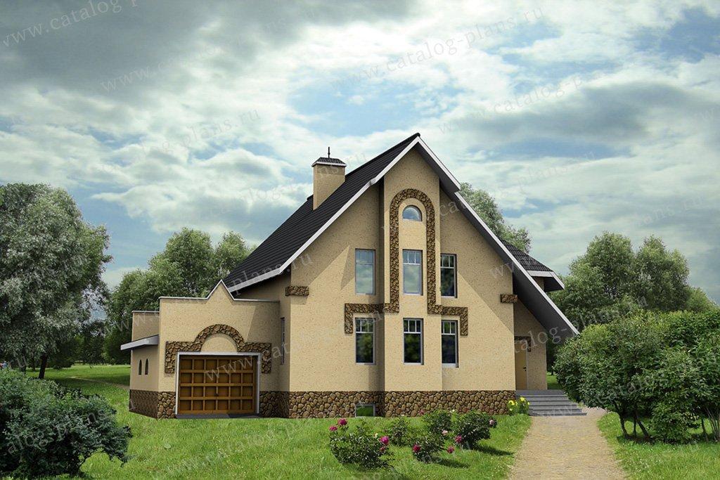 Проект жилой дом #30-42 материал - кирпич, стиль модерн