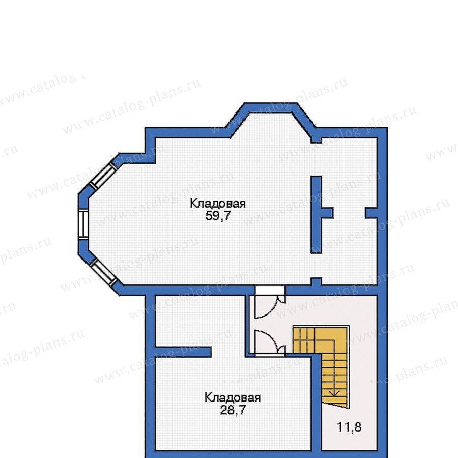 План 1-этажа проекта 31-65