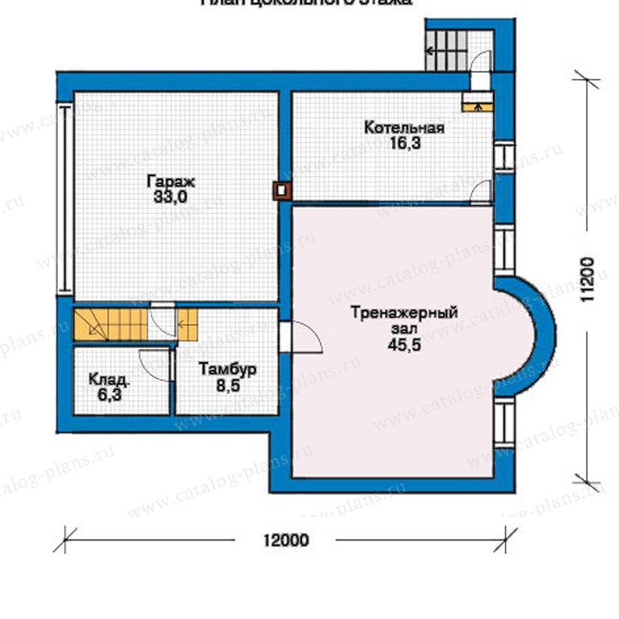 План 1-этажа проекта 30-47