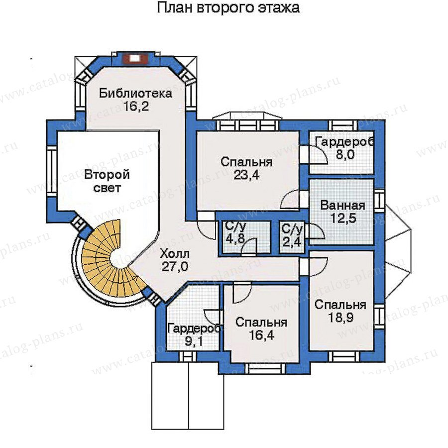 План 3-этажа проекта 31-14