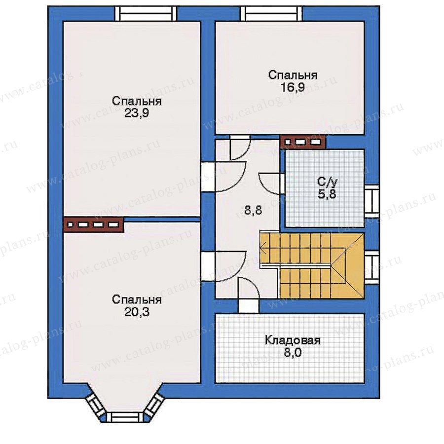 План 3-этажа проекта 31-90