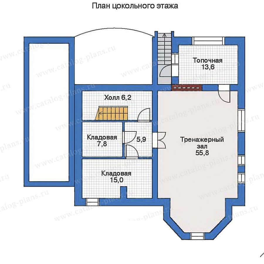 План 1-этажа проекта 31-79