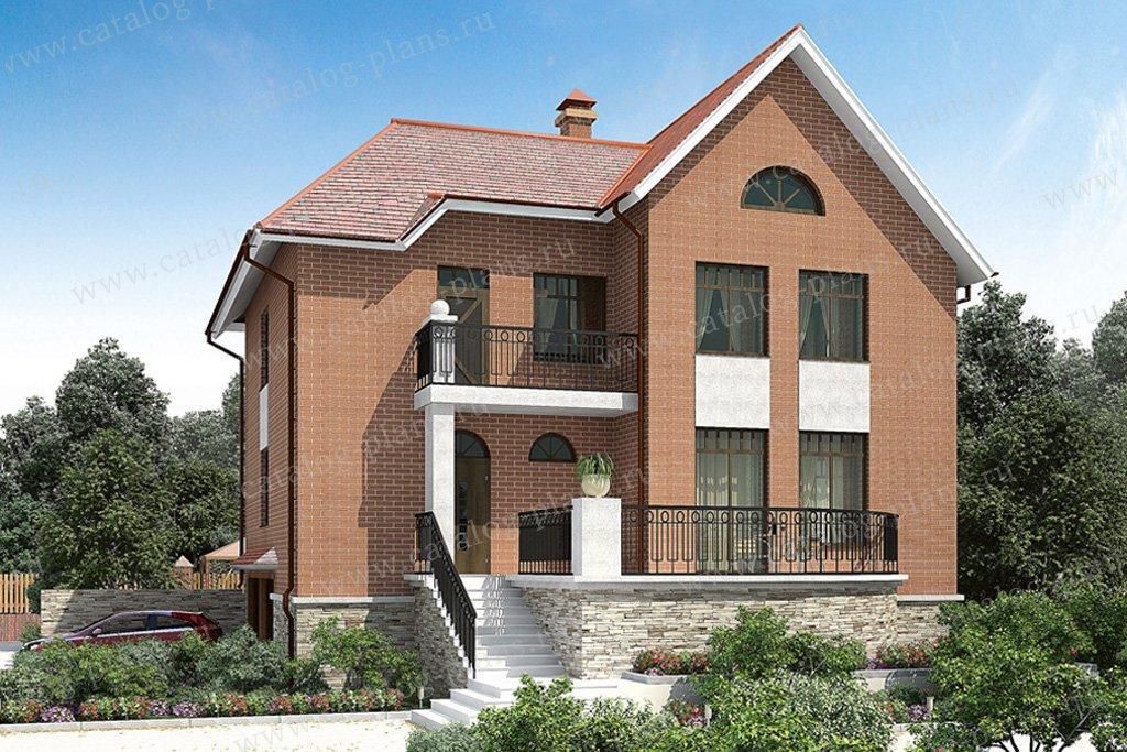 Проект жилой дом #30-47 материал - газобетон, стиль современный