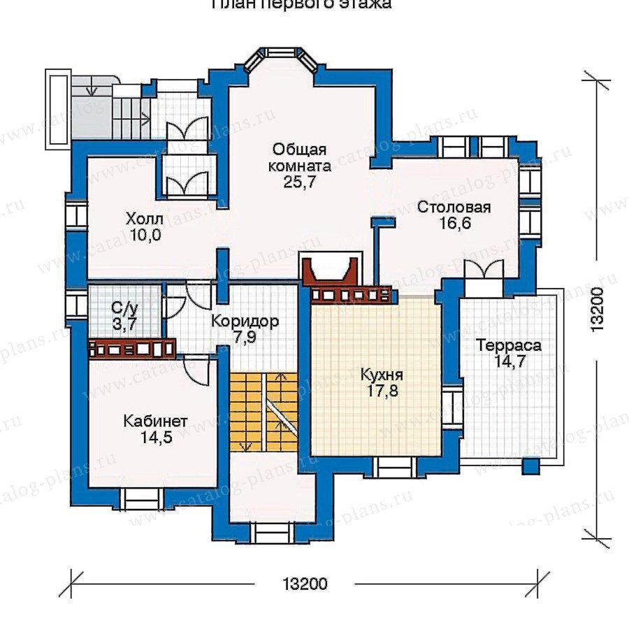 План 2-этажа проекта 30-35