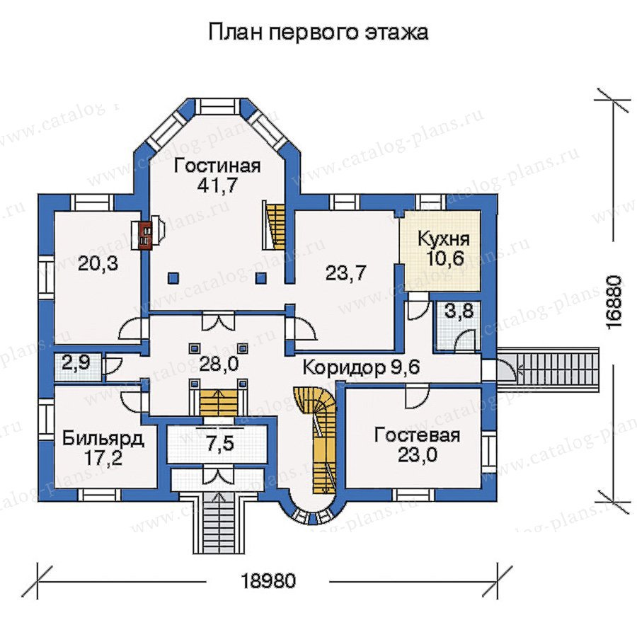 План 2-этажа проекта 31-37