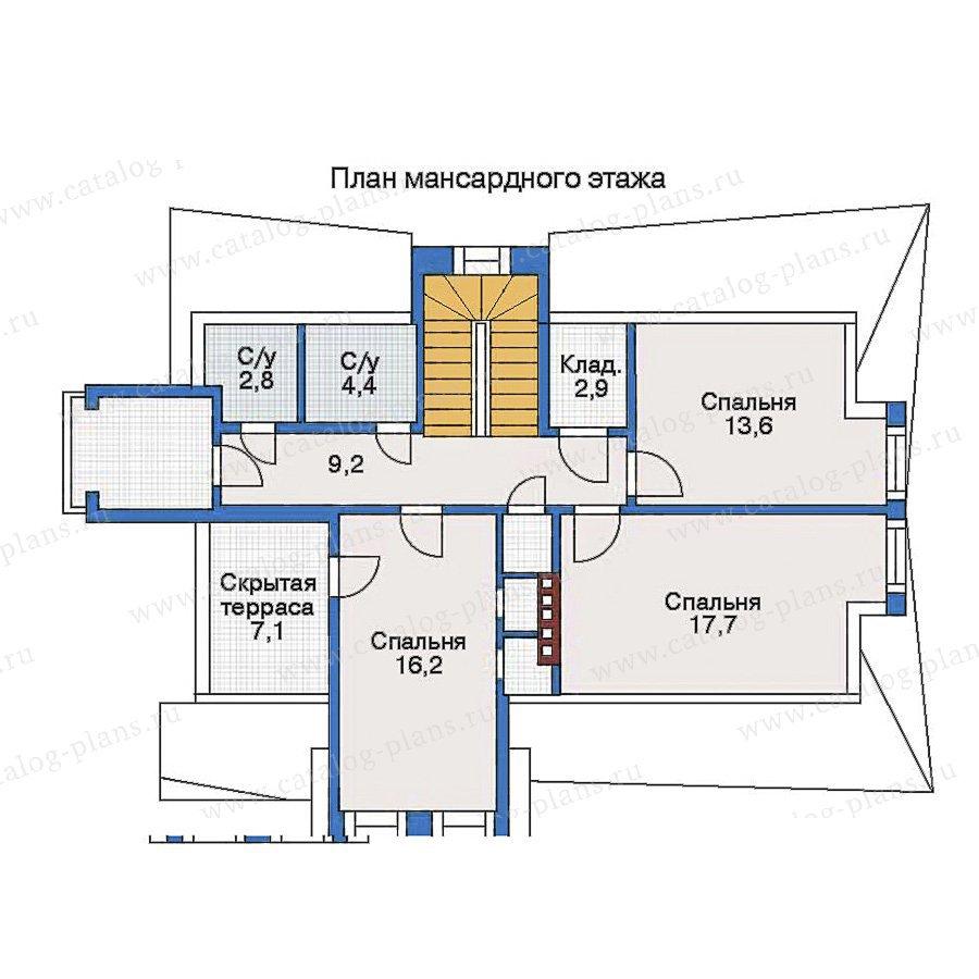 План 3-этажа проекта 31-03