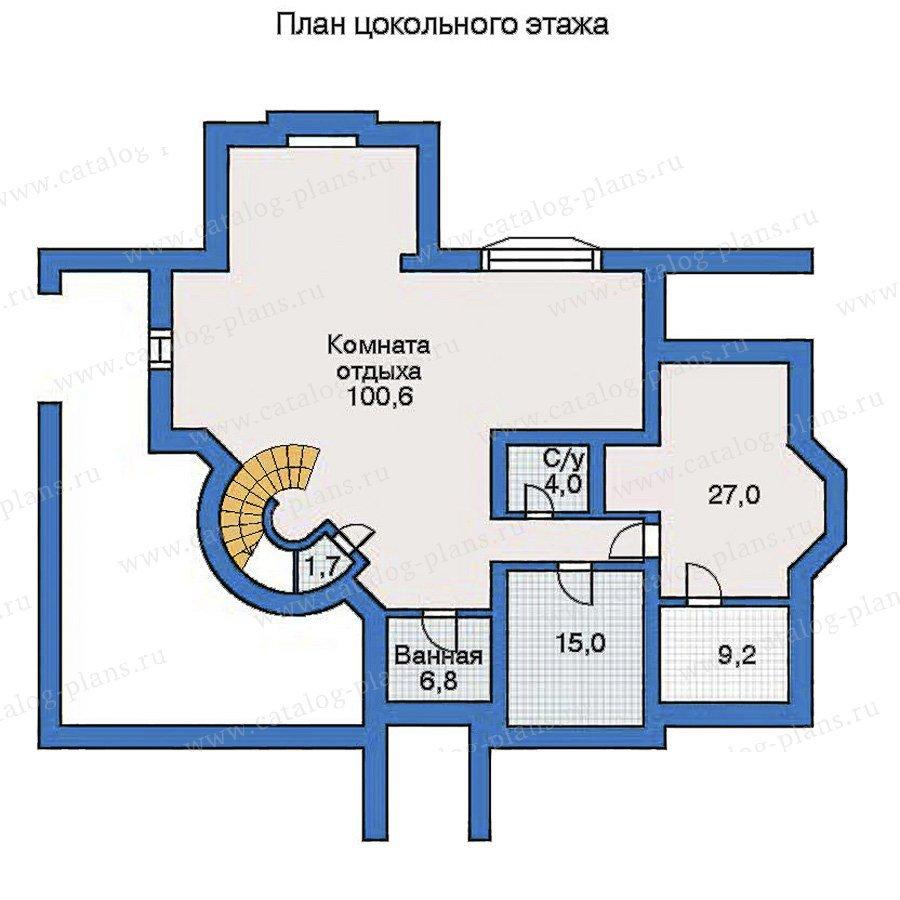 План 1-этажа проекта 31-14