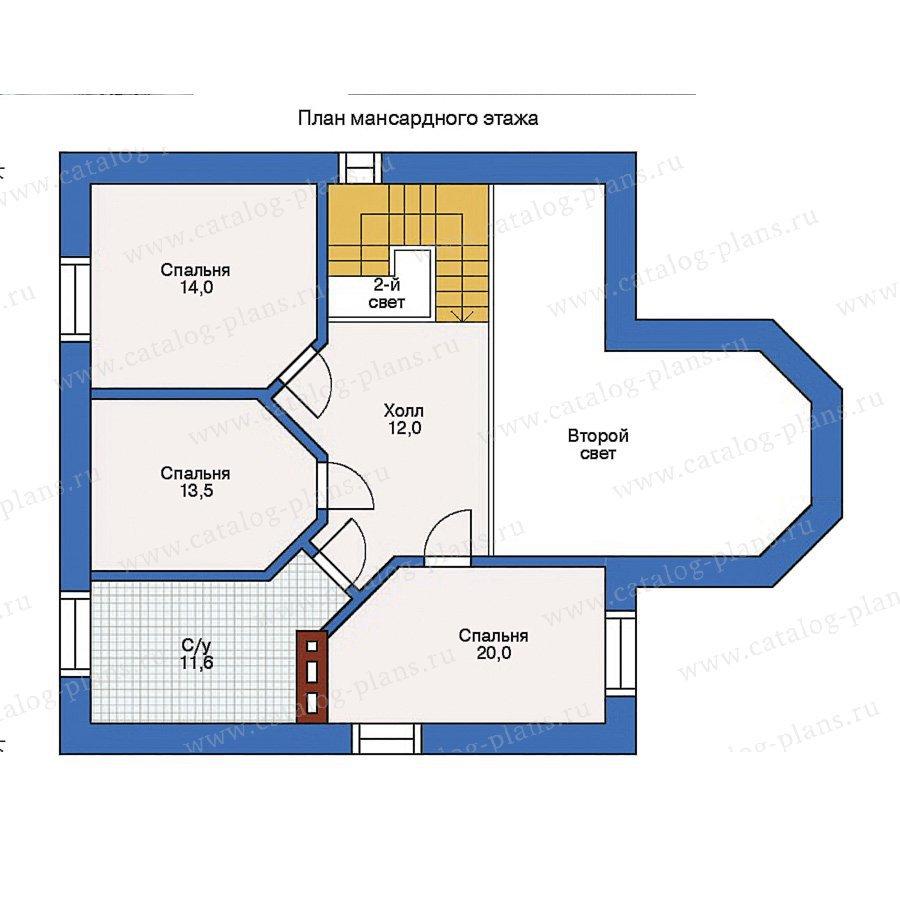 План 2-этажа проекта 31-67