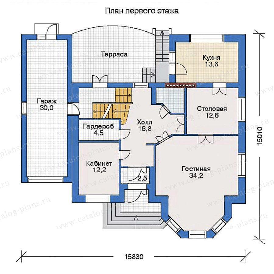 План 2-этажа проекта 31-79