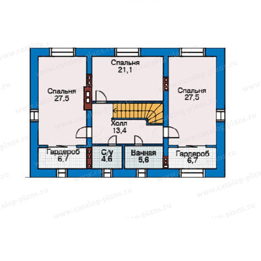 План 3-этажа проекта 31-39