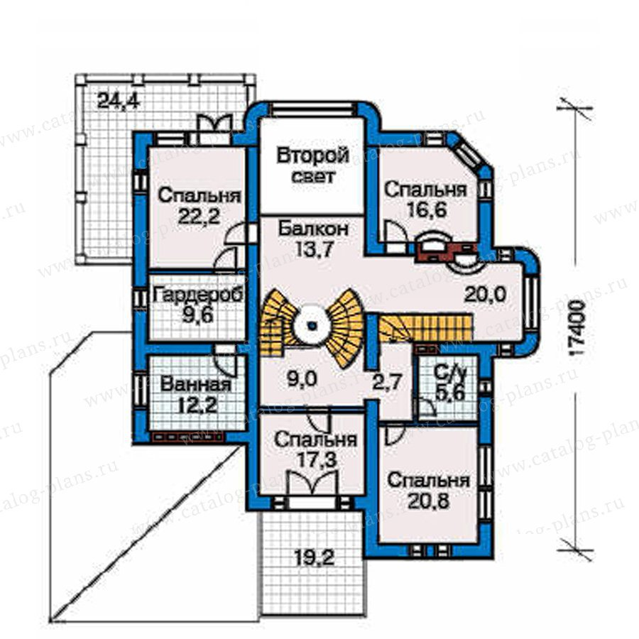 План 3-этажа проекта 31-26