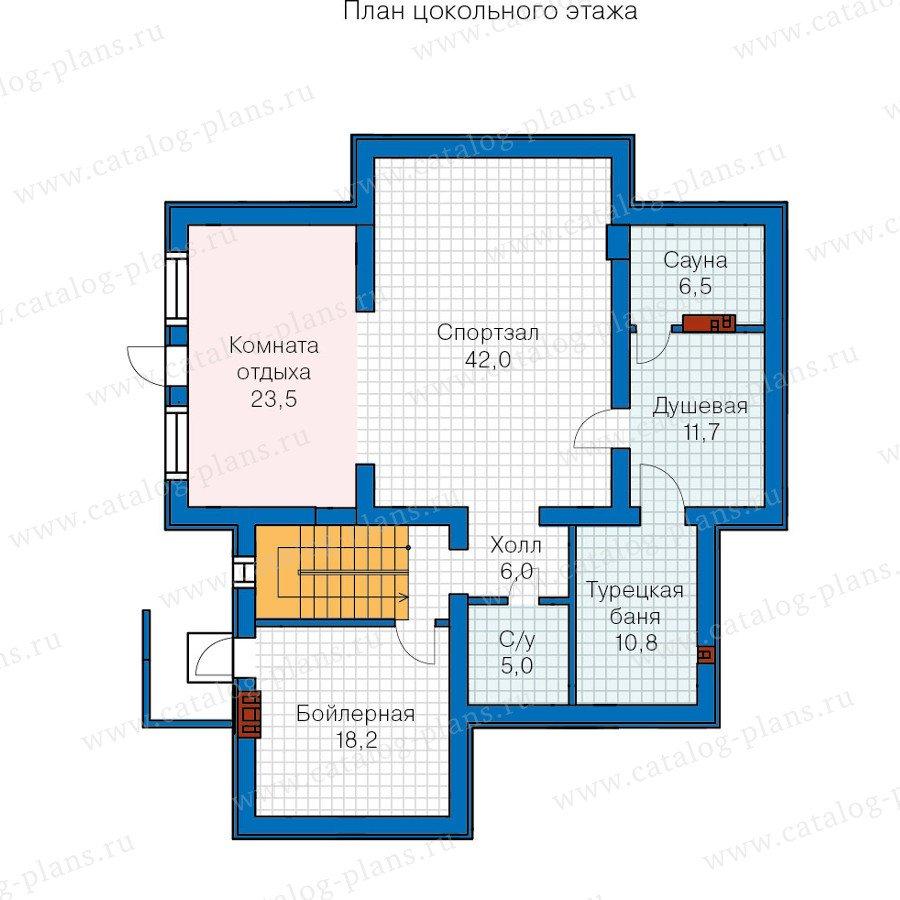 План 1-этажа проекта 59-86K