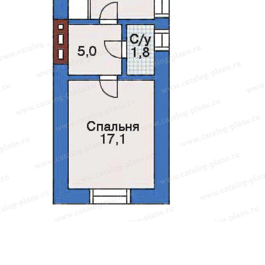 План 4-этажа проекта 32-23