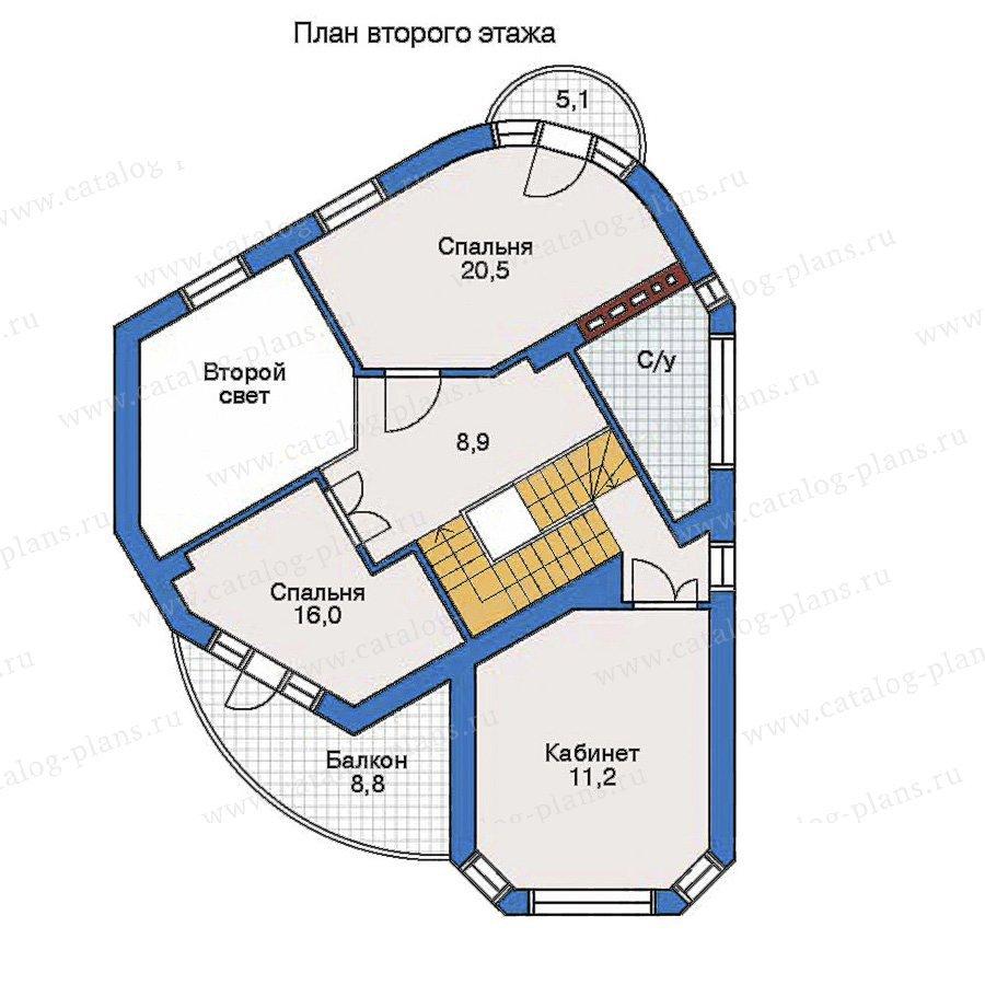 План 3-этажа проекта 32-24