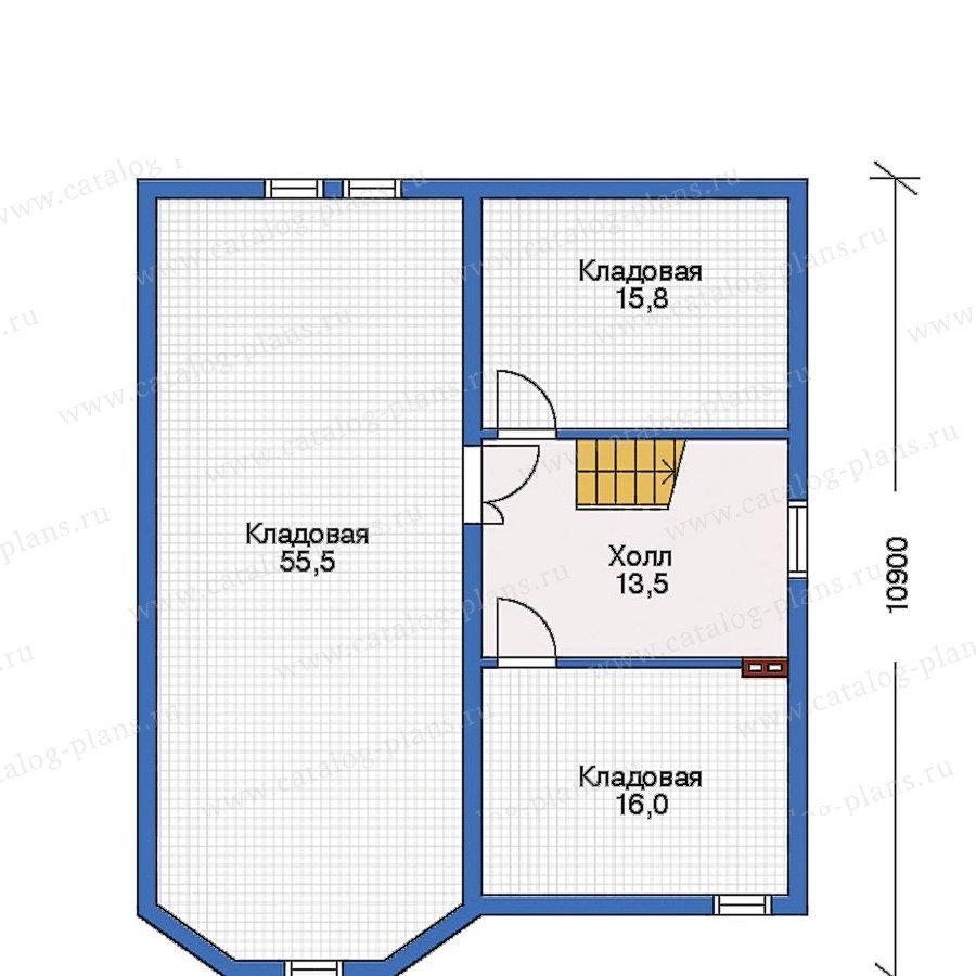 План 1-этажа проекта 32-25