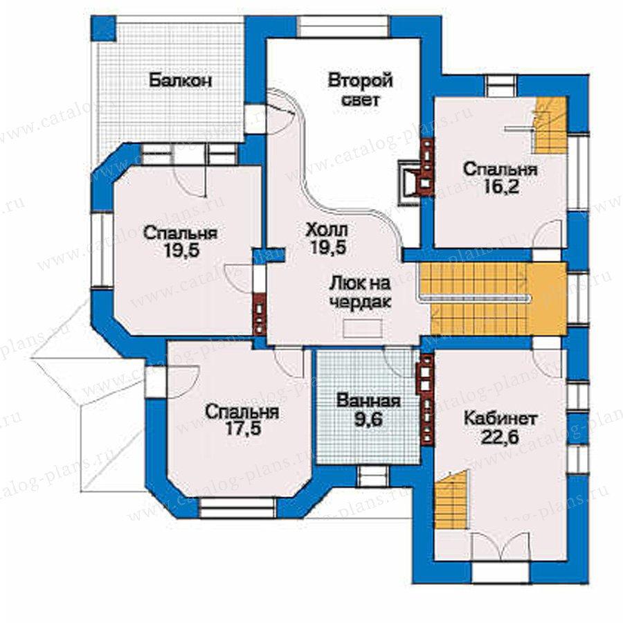 План 3-этажа проекта 32-00
