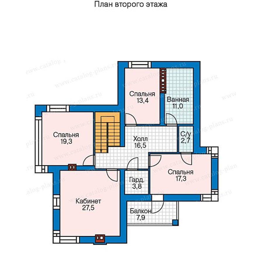 План 2-этажа проекта 40-26G
