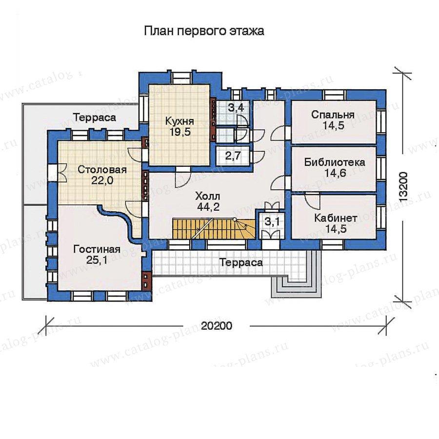 План 2-этажа проекта 32-33