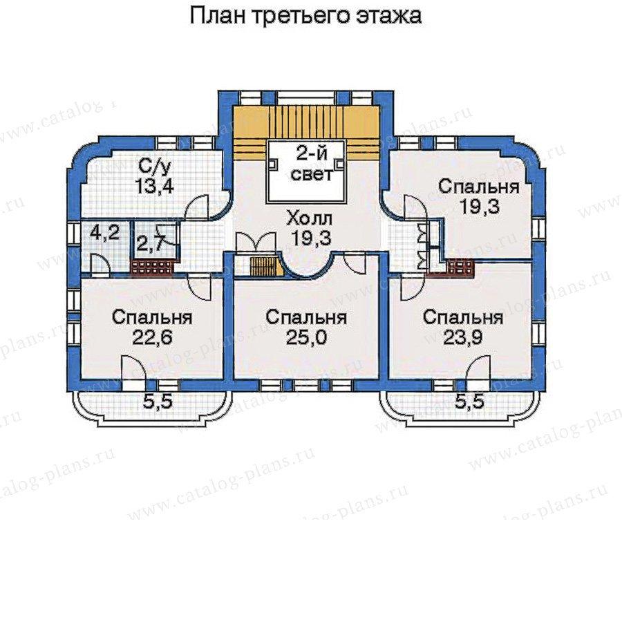 План 4-этажа проекта 32-34