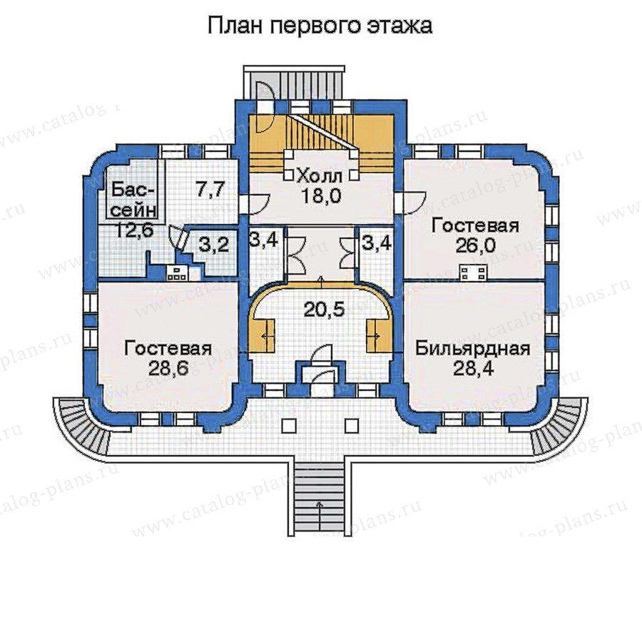 План 2-этажа проекта 32-34