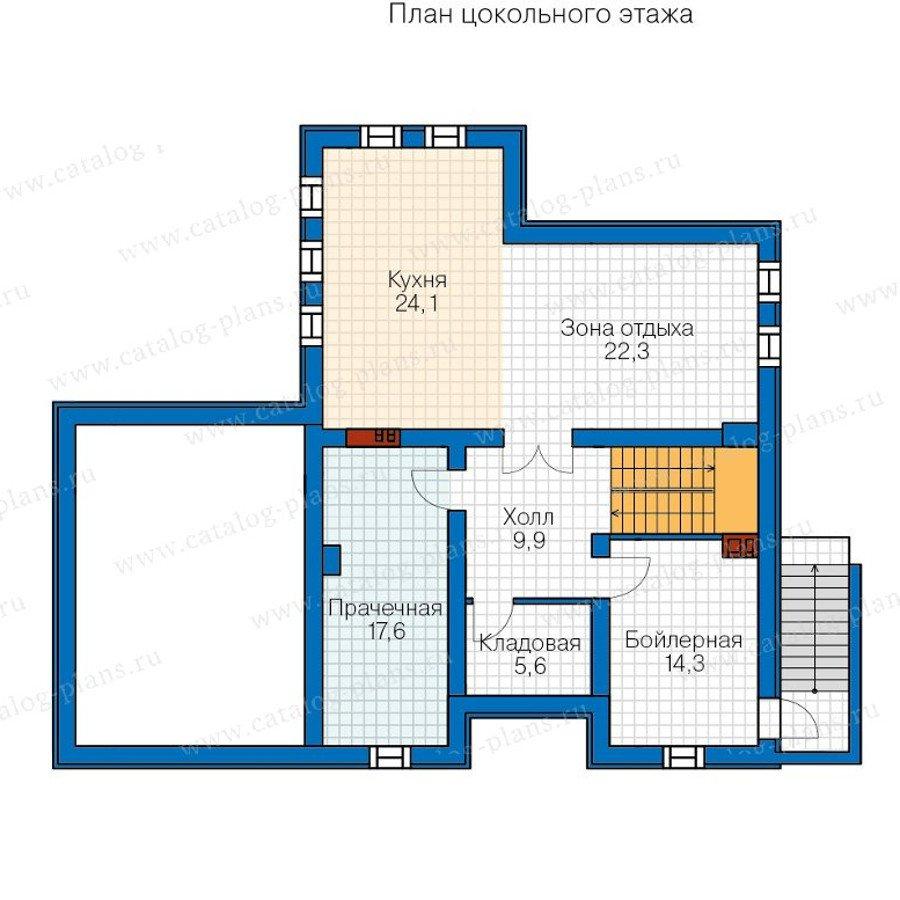 План 1-этажа проекта 40-24G