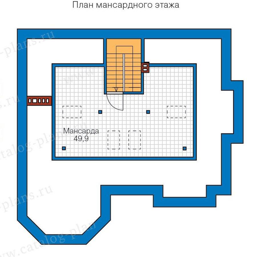 План 3-этажа проекта 40-11CL
