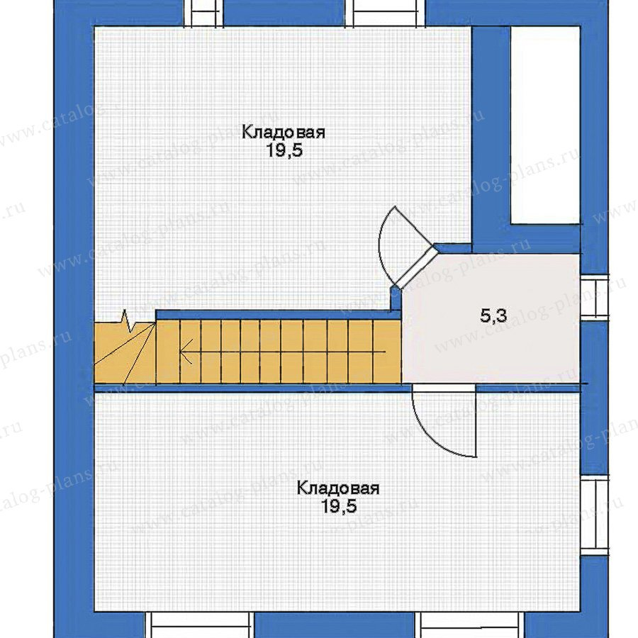 План 1-этажа проекта 32-99