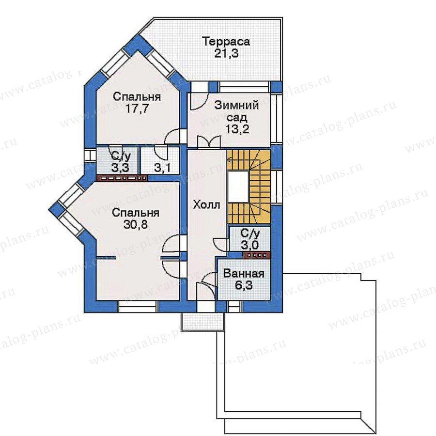 План 3-этажа проекта 32-58