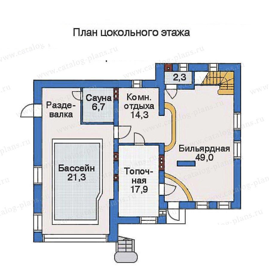 План 1-этажа проекта 32-81