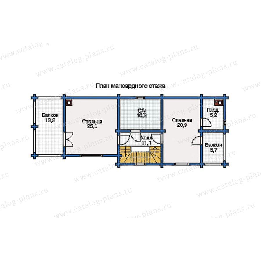 План 3-этажа проекта 12-09