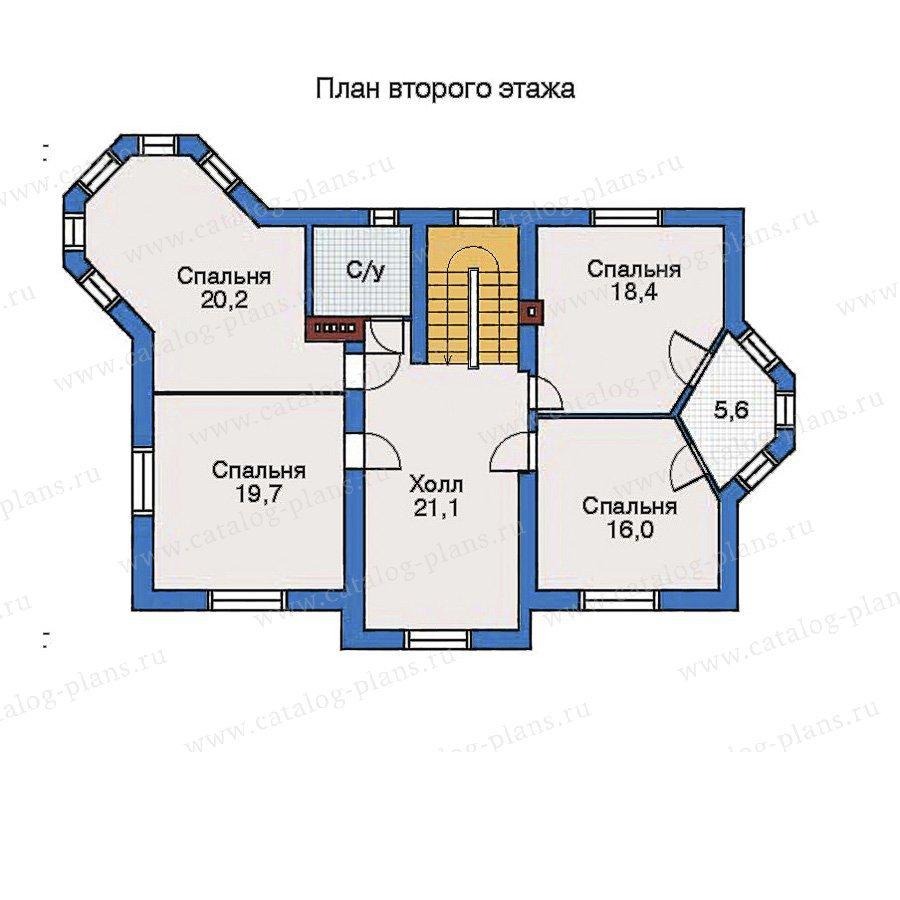План 3-этажа проекта 32-49