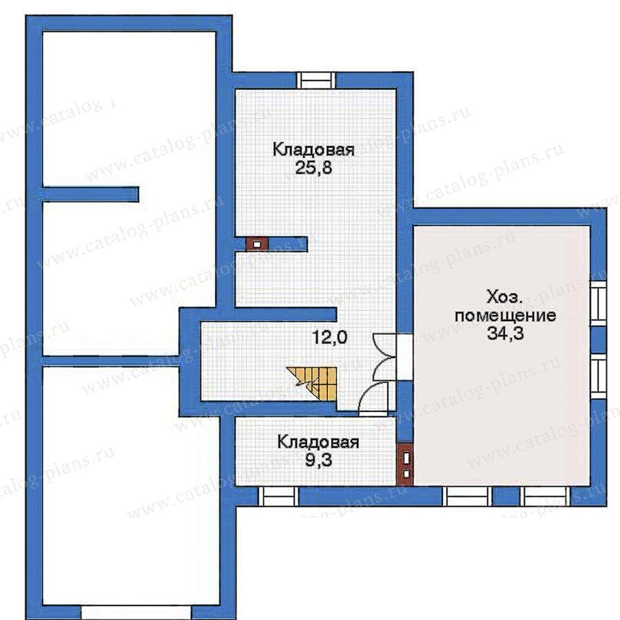 План 1-этажа проекта 32-79