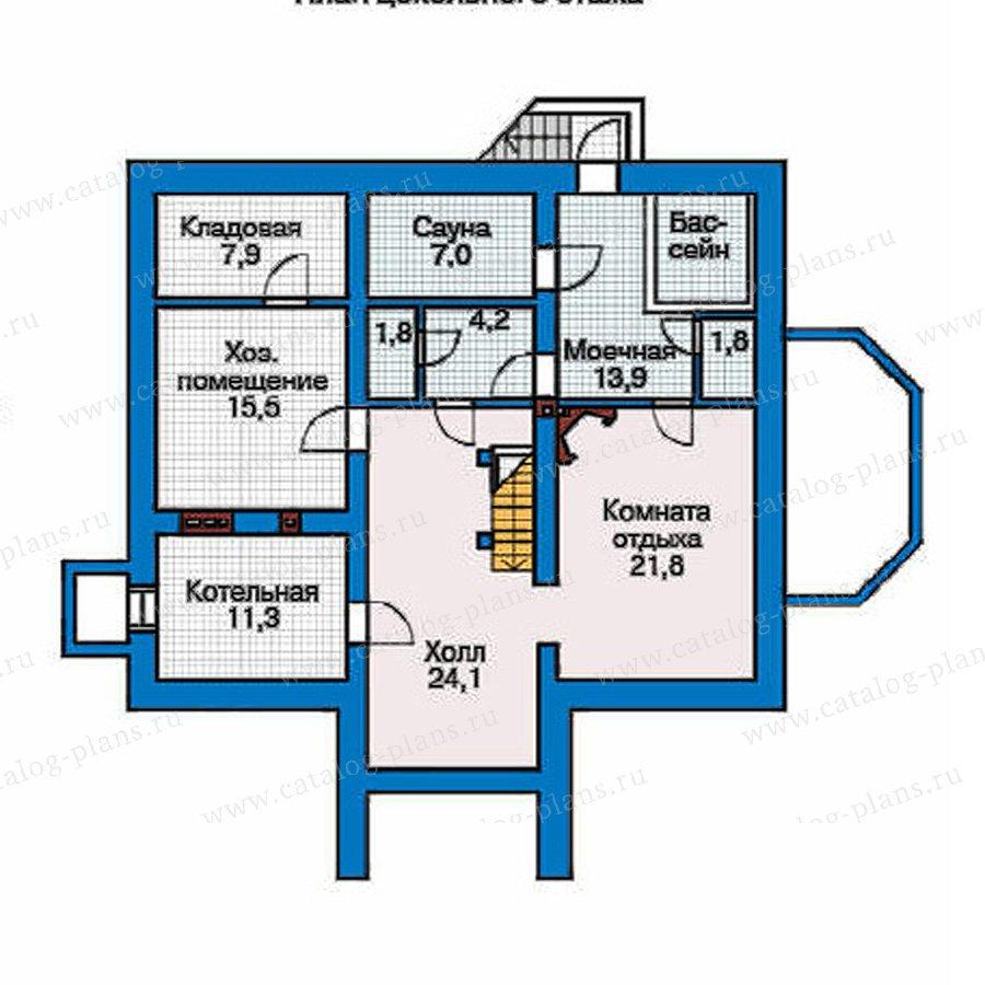 План 1-этажа проекта 32-67
