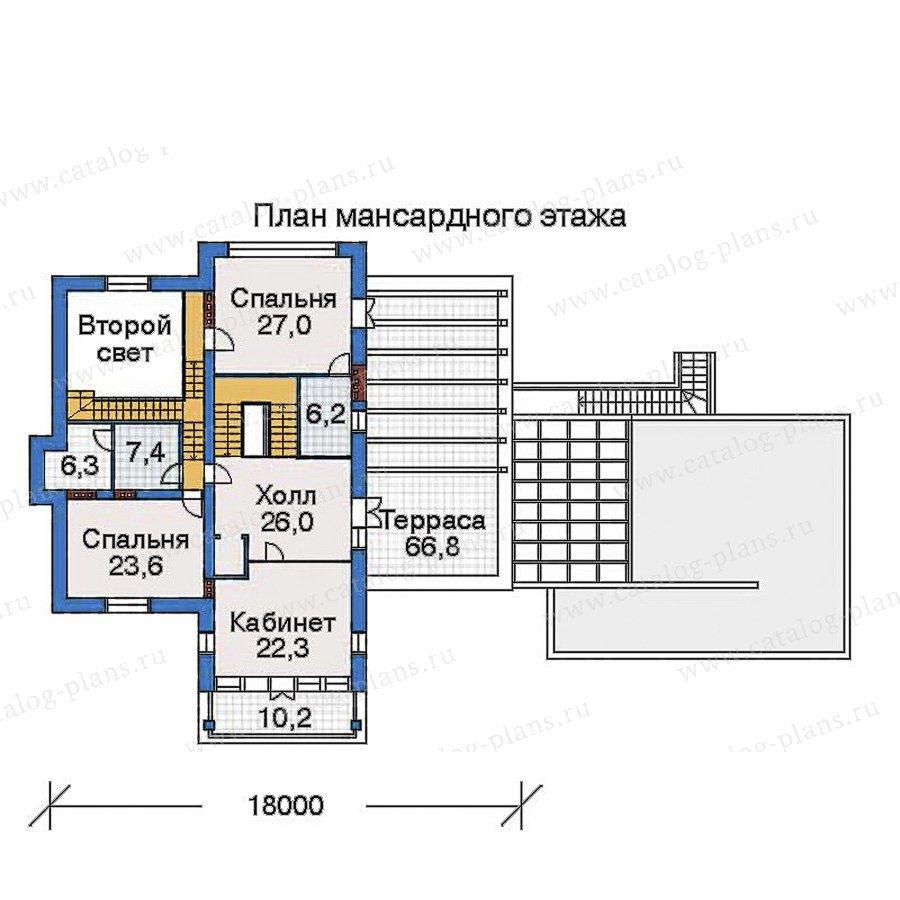 План 4-этажа проекта 32-46