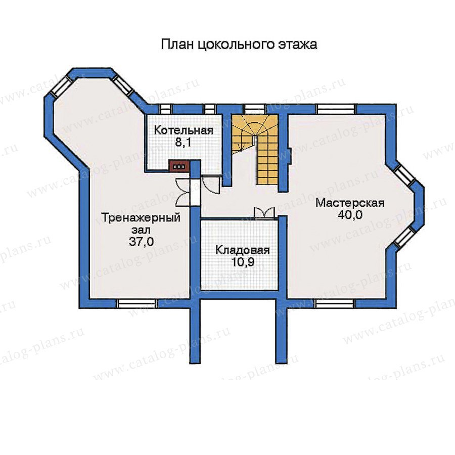 План 1-этажа проекта 32-49