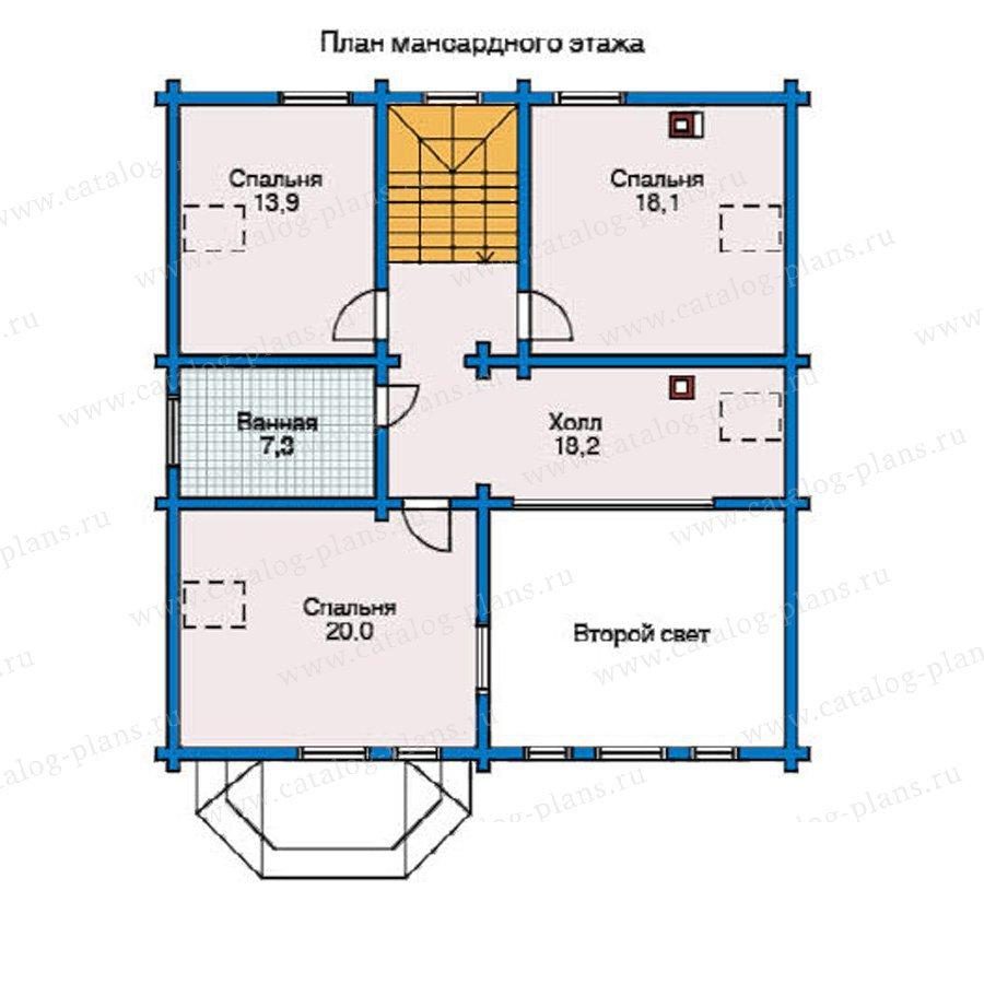 План 2-этажа проекта 11-03