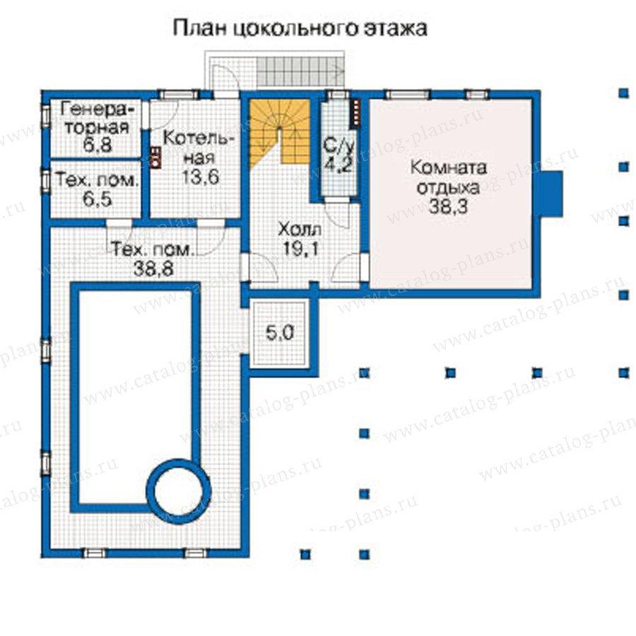 План 1-этажа проекта 12-40