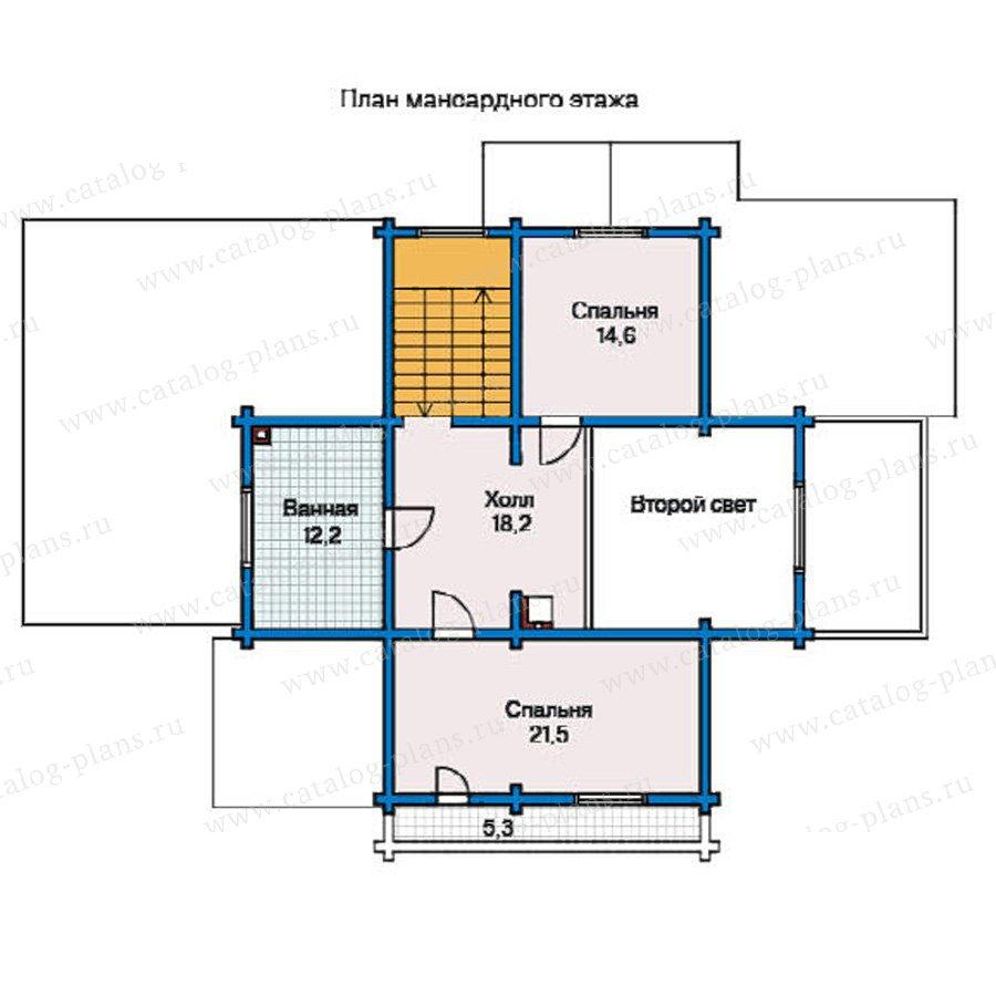 План 2-этажа проекта 11-10