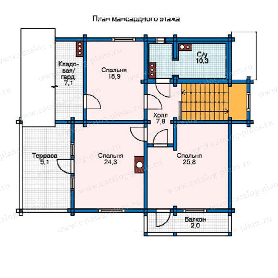 План 2-этажа проекта 11-13