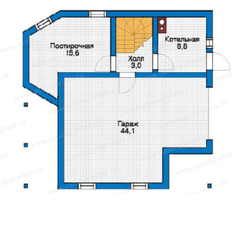 План 1-этажа проекта 11-72