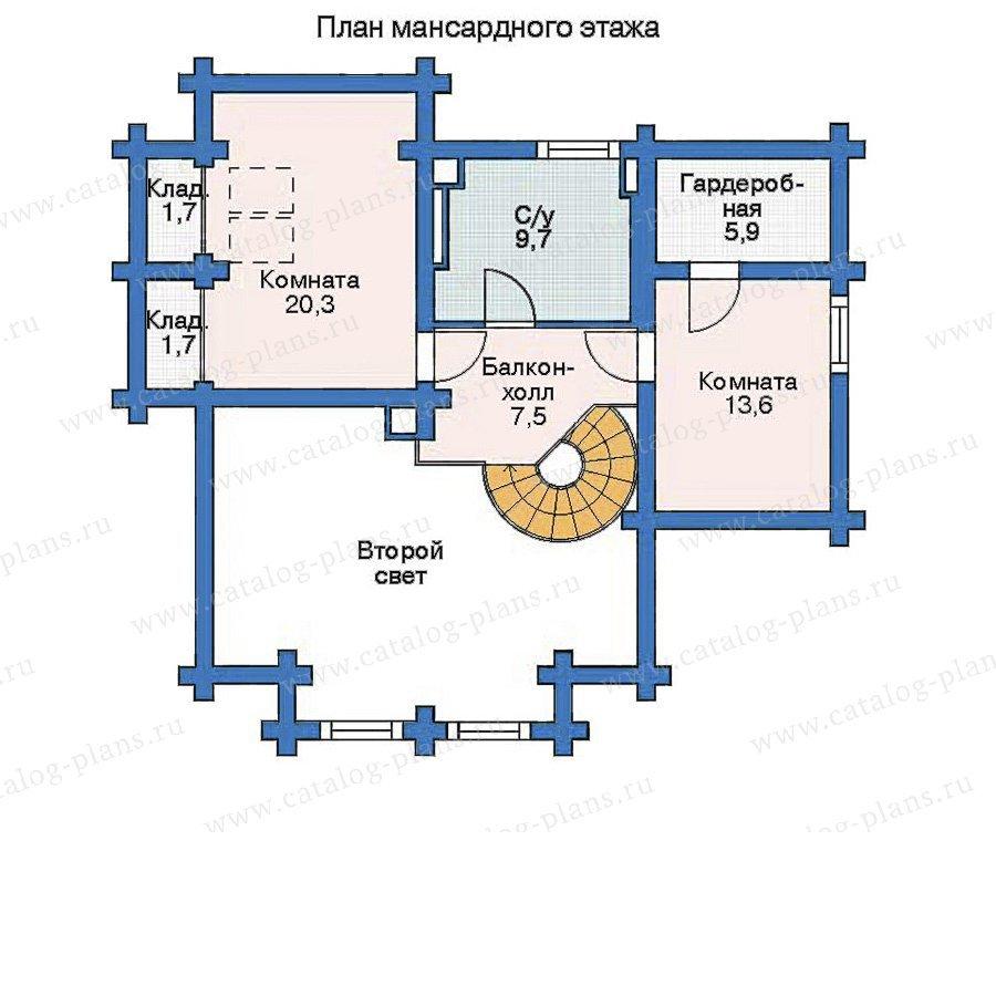 План 2-этажа проекта 11-16