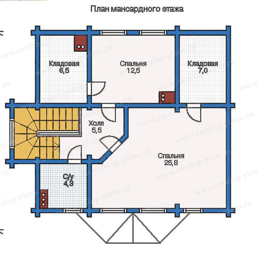 План 2-этажа проекта 11-32