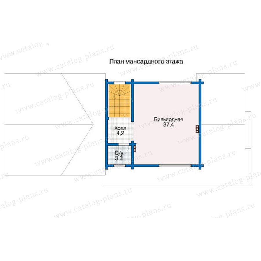 План 2-этажа проекта 12-41
