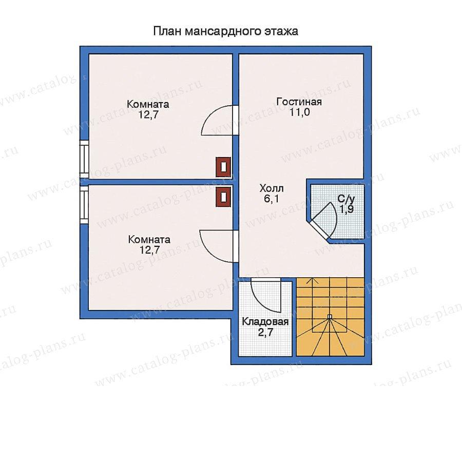 План 2-этажа проекта 11-15