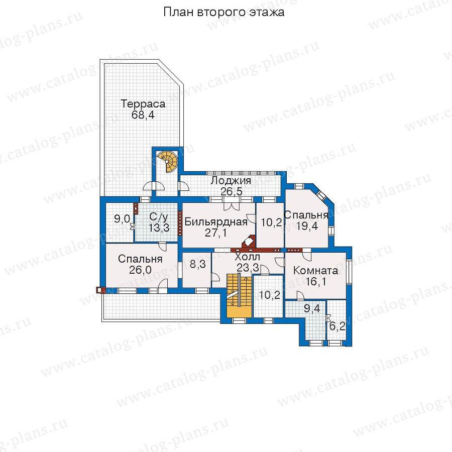 План 3-этажа проекта 52-04