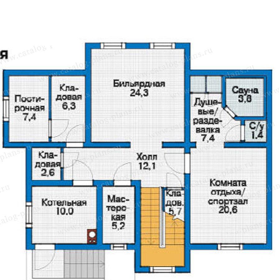План 1-этажа проекта 11-99