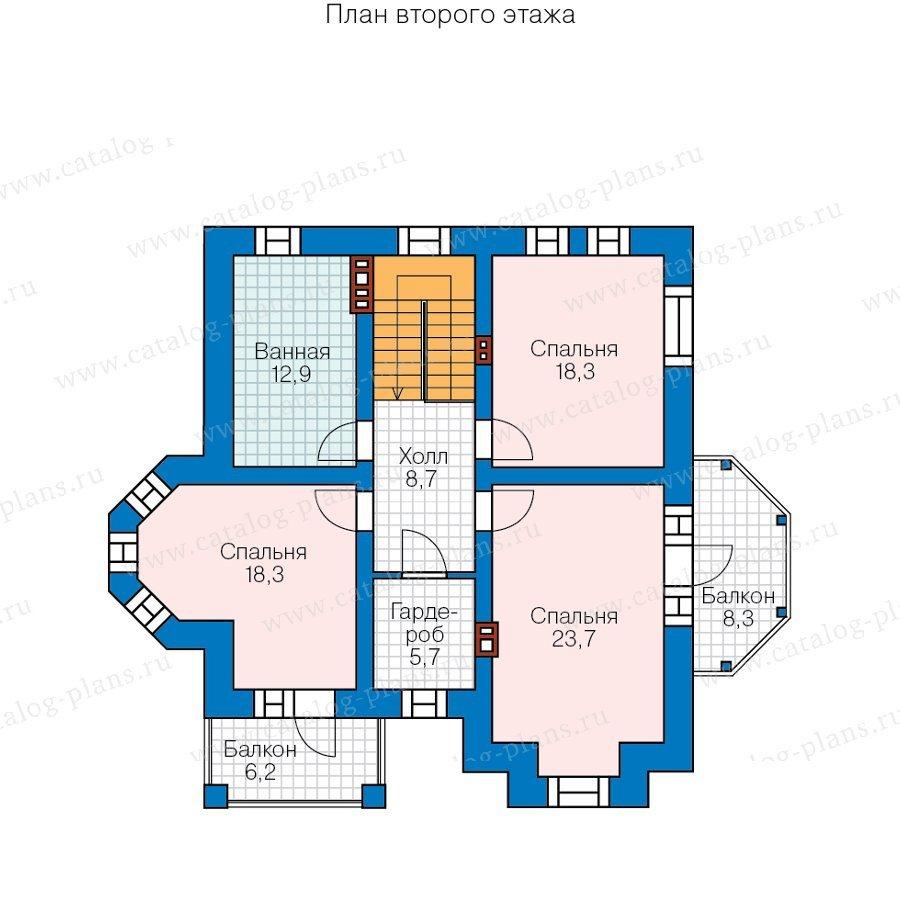 План 2-этажа проекта 40-29