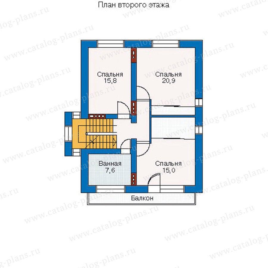 План 3-этажа проекта 51-34