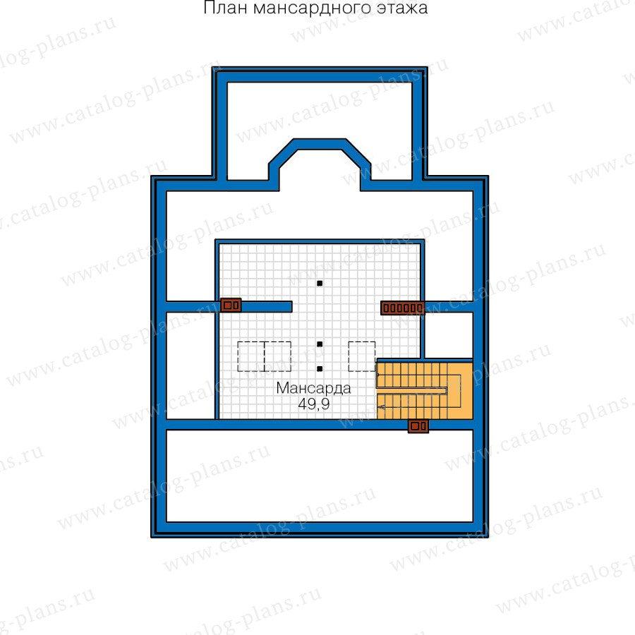 План 3-этажа проекта 57-15B